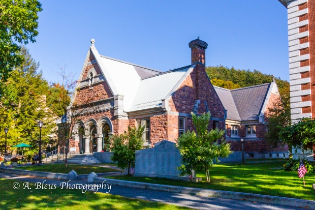 Public Buildings in Woodstock, Vermont -93E1627-4