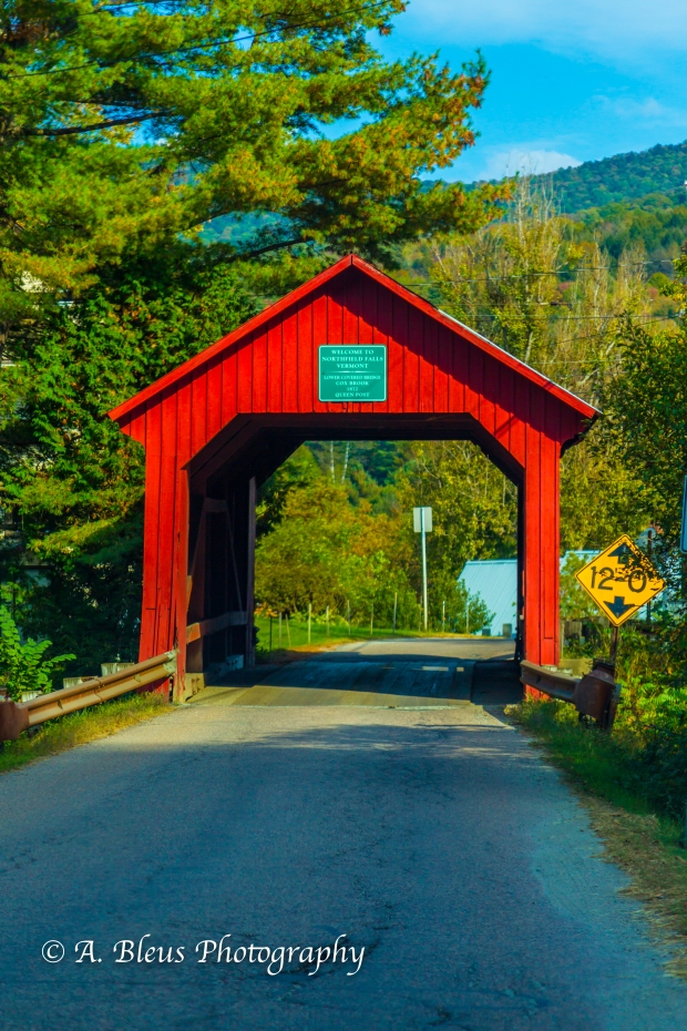 Upper Covered Bridge, Vermont -93E1838-3