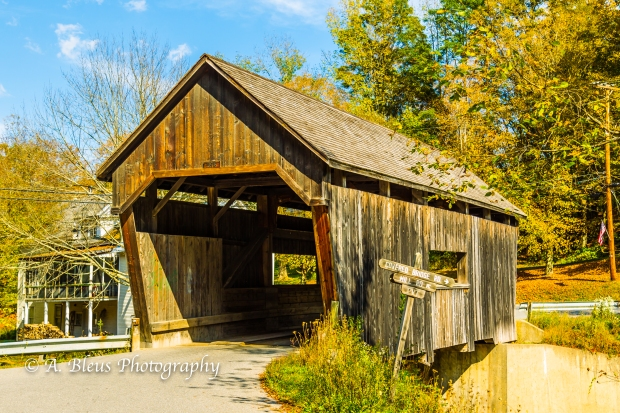 Warren Covered Bridge Vermont-93E1819
