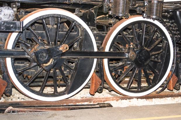 Vintage Train Wheel, IMG_6801