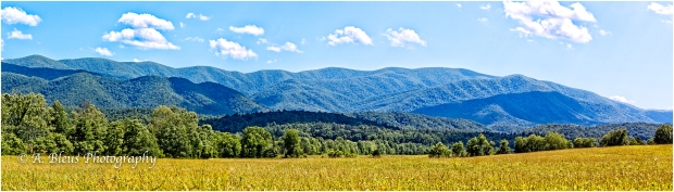 Great Smoky Mountains Pano, North Carolina_93E0114