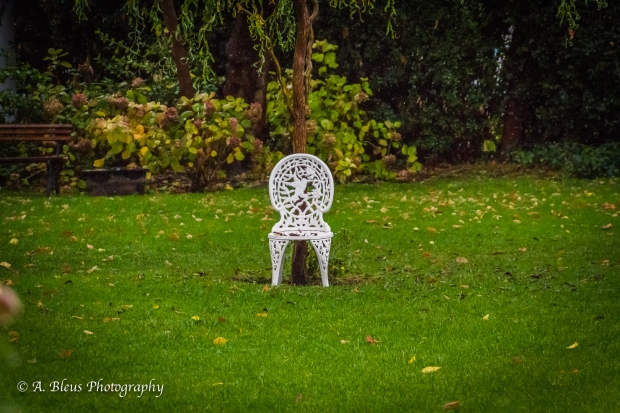Lonely white chair, MG_0741