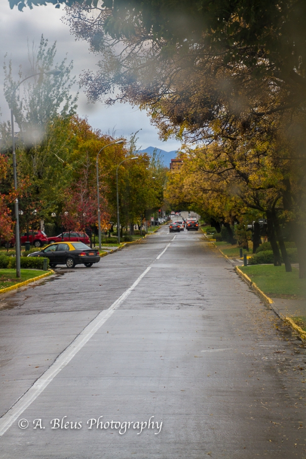 Streets of Santiago Chile-1