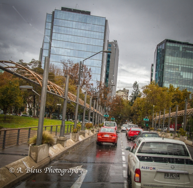 Streets of Santiago Chile-3