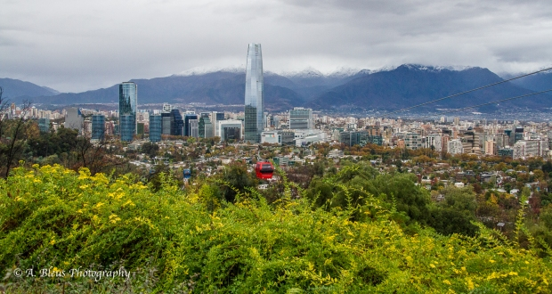 View of the city of Santiago, Chile,MG_0622