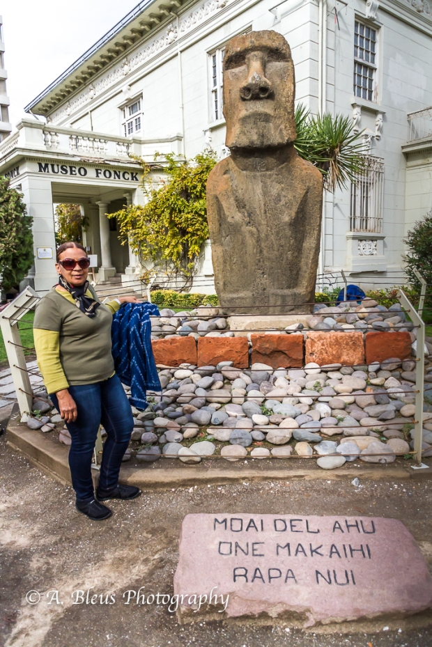 Moai Figure, Viña del Mar, Chile-2