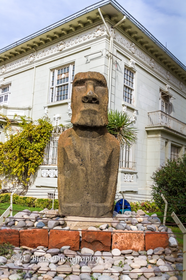Moai Figure, Viña del Mar, Chile