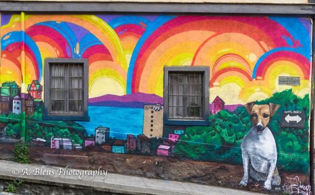The Grafitti City 2- Valparaiso