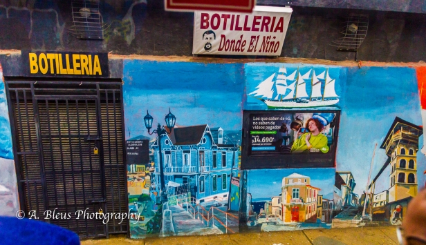 The Grafitti City - Valparaiso
